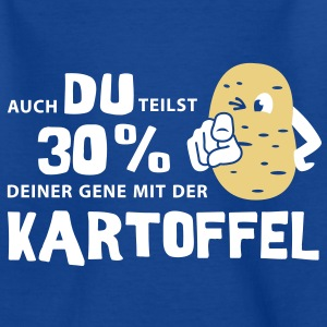 Kartoffel Gene Kinder T-Shirts - Teenager T-Shirt