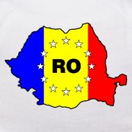 Motiv ~ Teddy mit Rumänien-Karte RO-EU