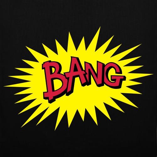 Bang, phylactère onomatopé style bande dessinée