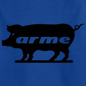arme Sau Kinder T-Shirts - Teenager T-Shirt