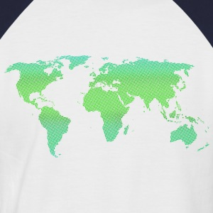 Green World - Männer Baseball-T-Shirt
