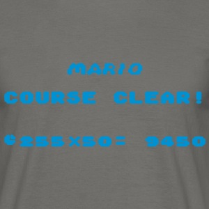 Mario Course Clear! T-Shirts - Men's T-Shirt