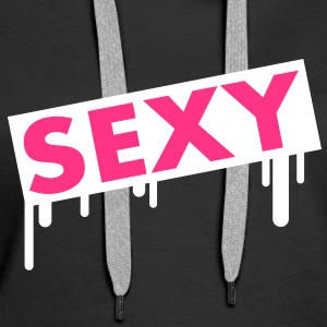 sexy Sweat-shirts - Sweat-shirt à capuche Premium pour femmes