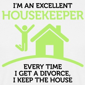Excellent Housekeeper 1 (2c)++ T-shirts - T-shirt herr