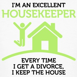 Excellent Housekeeper 1 (2c)++ Tee shirts - T-shirt bio Homme