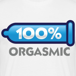 100 Orgasmic 2 (dd)++ T-Shirts - Men's T-Shirt