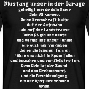 mUstang-Gebet  - Men's T-Shirt