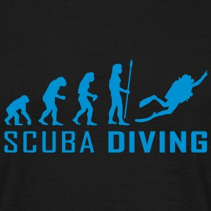 evolution_scuba_diving T-shirts - Herre-T-shirt