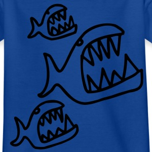 piranhas Kinder T-Shirts - Teenager T-Shirt