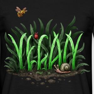 GROW VEGAN! - Männer T-Shirt