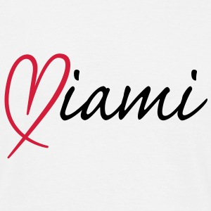 i love Miami | Miami | Herz | Heart T-Shirts - Men's T-Shirt