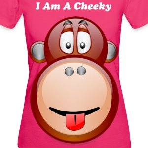 I'm A cheeky Monkey Collection - Women's Organic T-shirt