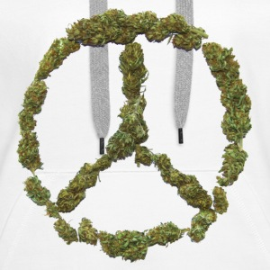 Weed and Worldpeace - Frauen Premium Hoodie