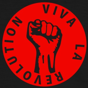 1 colors - Viva la Revolution - Working Class Unity Against Capitalism T-Shirts - Men's Ringer Shirt
