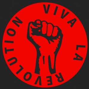 1 colors - Viva la Revolution - Working Class Unity Against Capitalism T-Shirts - Männer Bio-T-Shirt
