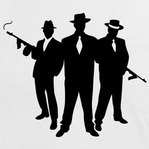 Mafia Gangster T-Shirts - Women's Ringer T-Shirt