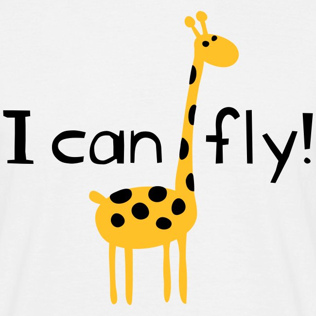 I can fly!