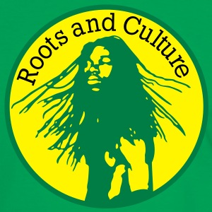 roots and culture T-shirts - Kontrast-T-shirt herr