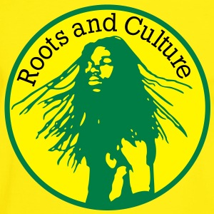 roots and culture T-Shirts - Männer Kontrast-T-Shirt