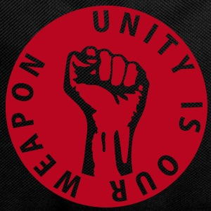 1 color - unity is our weapon - against capitalism working class war revolution Bags  - Backpack