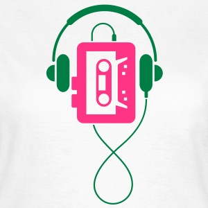 Walkman (2c)++ T-shirts - Vrouwen T-shirt