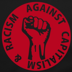 1 color - against capitalism & racism - against capitalism working class war revolution Bags  - Shoulder Bag