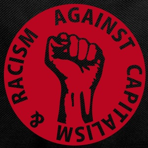 1 color - against capitalism & racism - against capitalism working class war revolution Bags  - Backpack