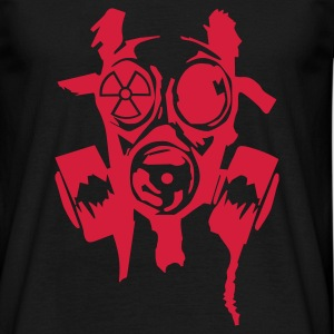 bad gasmask - Herre-T-shirt