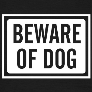 beware_of_dog_100 T-shirts - T-shirt herr