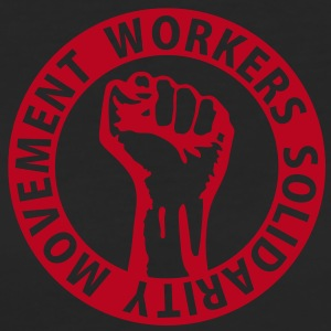 1 colors - Workers Solidarity Movement - Working Class Unity Against Capitalism T-Shirts - Frauen Bio-T-Shirt