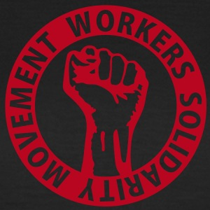 1 colors - Workers Solidarity Movement - Working Class Unity Against Capitalism T-shirts - Vrouwen T-shirt