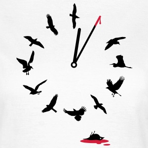 Doomsday Bird Clock T-Shirts - Women's T-Shirt