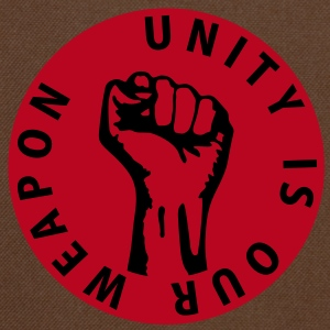 2 colors - unity is our weapon - against capitalism working class war revolution Bags  - Shoulder Bag