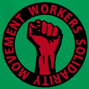 2 colors - Workers Solidarity Movement - Working Class Unity Against Capitalism Bags  - Retro Bag