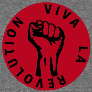2 colors - Viva la Revolution - Working Class Unity Against Capitalism Felpe - Felpa con scollo a barca da donna, marca Bella