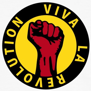 3 colors - Viva la Revolution - Working Class Unity Against Capitalism T-Shirts - Männer Kontrast-T-Shirt