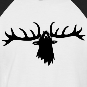 appréhender cerf bois chasseur Tee shirts - T-shirt baseball manches courtes Homme