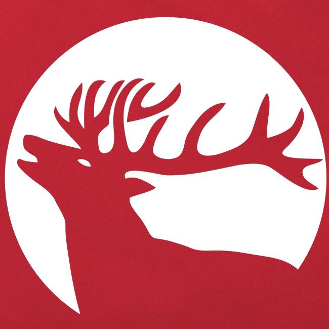 tiershirt t-shirt hirsch röhrender brunft geweih elch stag antler jäger junggesellenabschied förster jagd
