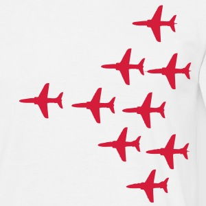 Red Arrows Vulcan 2007 Formation - Men's T-Shirt