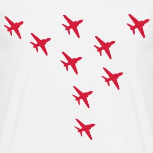 Red Arrows Eagle Formation - Men's T-Shirt