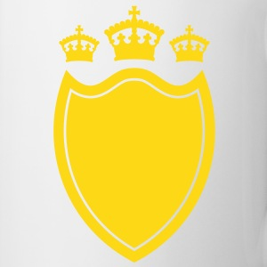 Shield with crown Mug - Mug