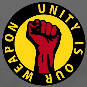 3 colors - unity is our weapon - against capitalism working class war revolution Bags  - Shoulder Bag