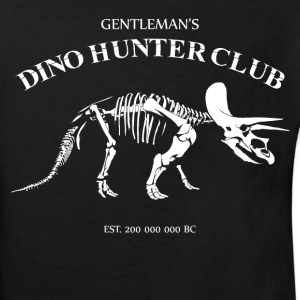 Gentlemans Dino Hunter Club - Kids' Organic T-shirt