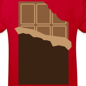 Chocolate (dd)++ Barn-T-shirts - Ekologisk T-shirt barn