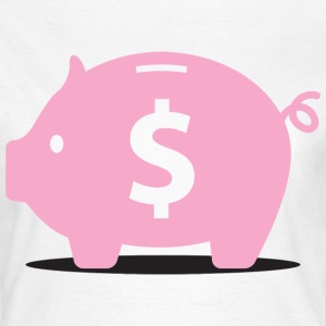 Piggy Bank (dd)++ T-shirts - Vrouwen T-shirt