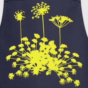 Wild French Alpine Flowers Cooking Apron - Cooking Apron