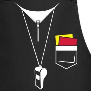 Referee - Football - Map and whistle  Aprons - Cooking Apron