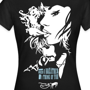 Black  T-Shirts - Women's T-Shirt