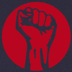 1 color - against capitalism working class war revolution Felpe - Felpa da uomo