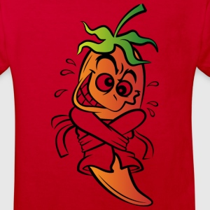 Chilli Pepper (dd)++ Kids' Shirts - Kids' Organic T-shirt